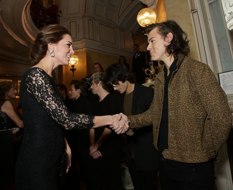 Kate Middleton and Harry Styles Royal Variety Perf