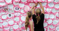 Race for Life messages