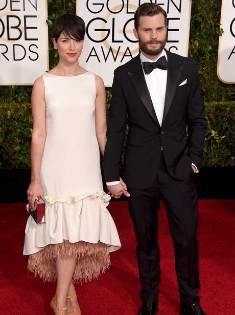 Jamie Dornan with wife Amelia Warren