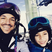 11. Peter Andre and son look super cute in matching ski goggles.