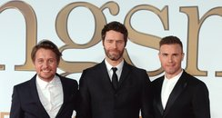 Take That at the Kingsman: The Secret Service worl