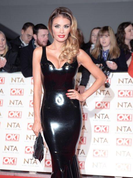National Television Awards Chloe Sims