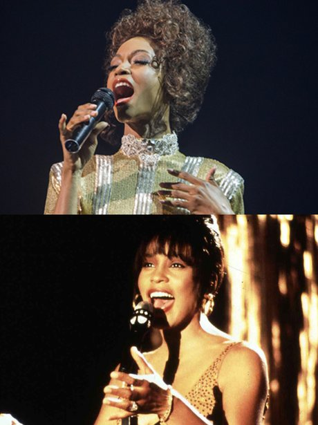 Stars In Biopic - Whitney Houston