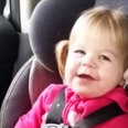 Toddler sings Shake It Off