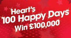 Heart's 100 Happy Days  2015 OFFICIAL LOGO