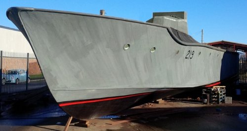 MTB 219 torpedo boat restored in Bridgwater