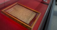 Copies of the Magna Carta on display