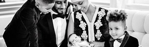 Alicia Keys With Family