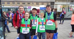 Cov Half Marathon - We Did It!