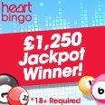 Heart Games - £1250 Winner