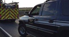 A141 Hartford Crash