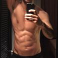Calvin Harris torso close up