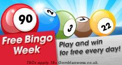 Heart Bingo Free Week Generic Hero Promo