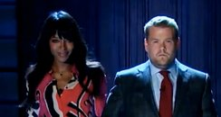 Naomi Campbell and James Cordon