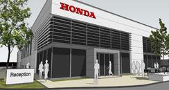 New Honda Garage