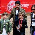 The Beckhams London Marathon