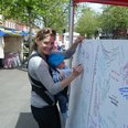Giant Royal Baby Card - St Albans