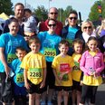A colourful group of runners!