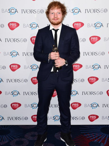 Ed Sheeran Ivor Novello Awards 2015