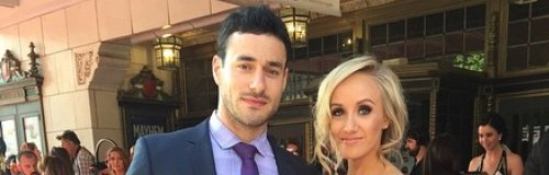 Nastia Liukin and Matt Lombardi