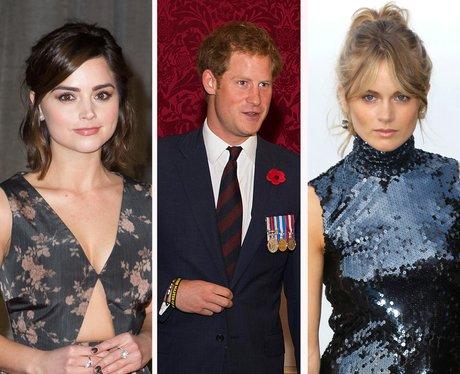 Jenna Coleman, Prince Harry, Cressida Bonas