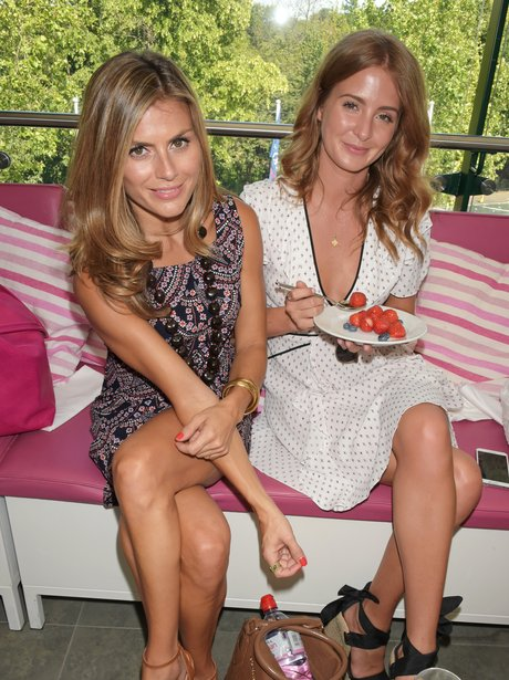 Zoe Hardman  and Millie Mackintosh Wimbledon 2015