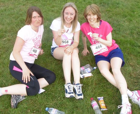 Stratford Upon Avon Race For Life - Finish Line!