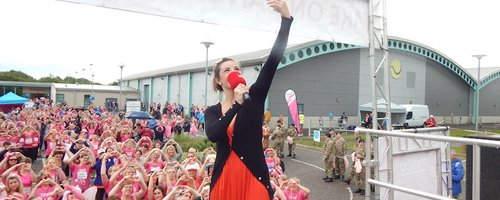 Heart Angels; Barnstaple Race for Life