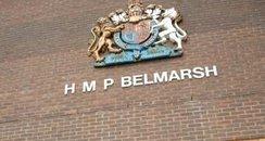 Belmarsh Prison London sign
