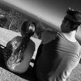 Harper and Brooklyn Beckham take a hike together.