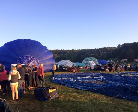 Bristol Balloon Fiesta Mass Ascent 2015: Friday AM