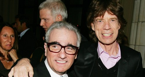 Martin Scorsese and Mick Jagger