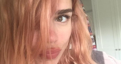 billie piper pink hair twitter