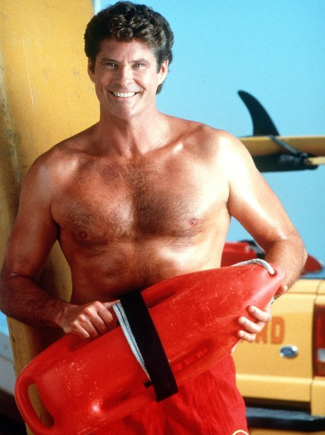 Baywatch Then and Now David Hassleoff
