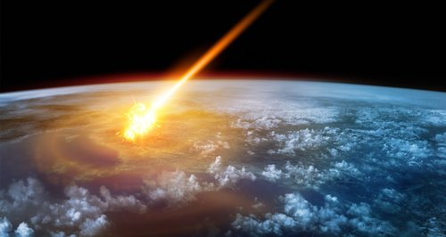 Asteroid coming from Space