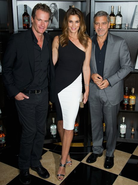 george clooney rande gerber cindy crawford getty