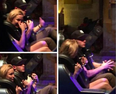 Kate Hudson and Joe Jonas at Disneyland