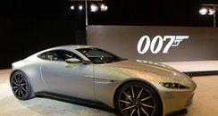 Aston Martin bond car