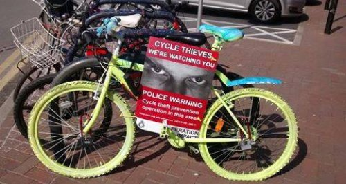 Dorset Police cycle theft