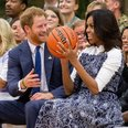 Michelle Obama and Prince Harry