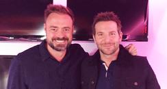 Jamie Theakston & Bradley Cooper