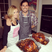 11. Katherine Jenkins and hubby cook TWO turkeys!
