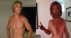Chris Hemsworth before and after