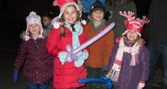 Dave Edwards' Christmas Light Switch On- Croxley G