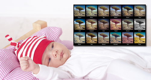 Baby Instagram Filters