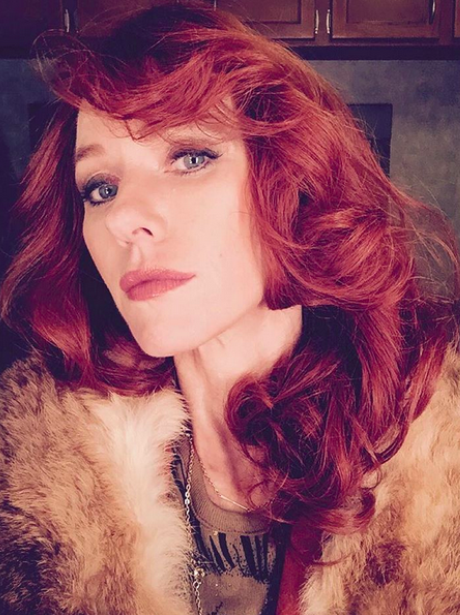 Naomi Watts with red hair