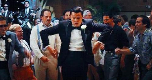 Leonardo DiCaprio WOWS