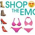 shop the emoji feature