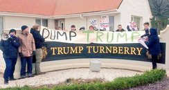 Turnberry Protests