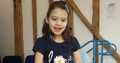 Izzy Pearce from Cornwall hoping to walk